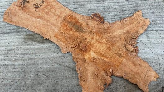 Envers peau cuir patte de coq fauve nacré bijoux accessoire cuirenstock