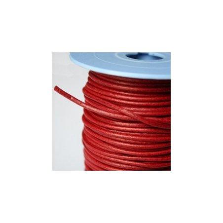 Lacet rouge 2mm