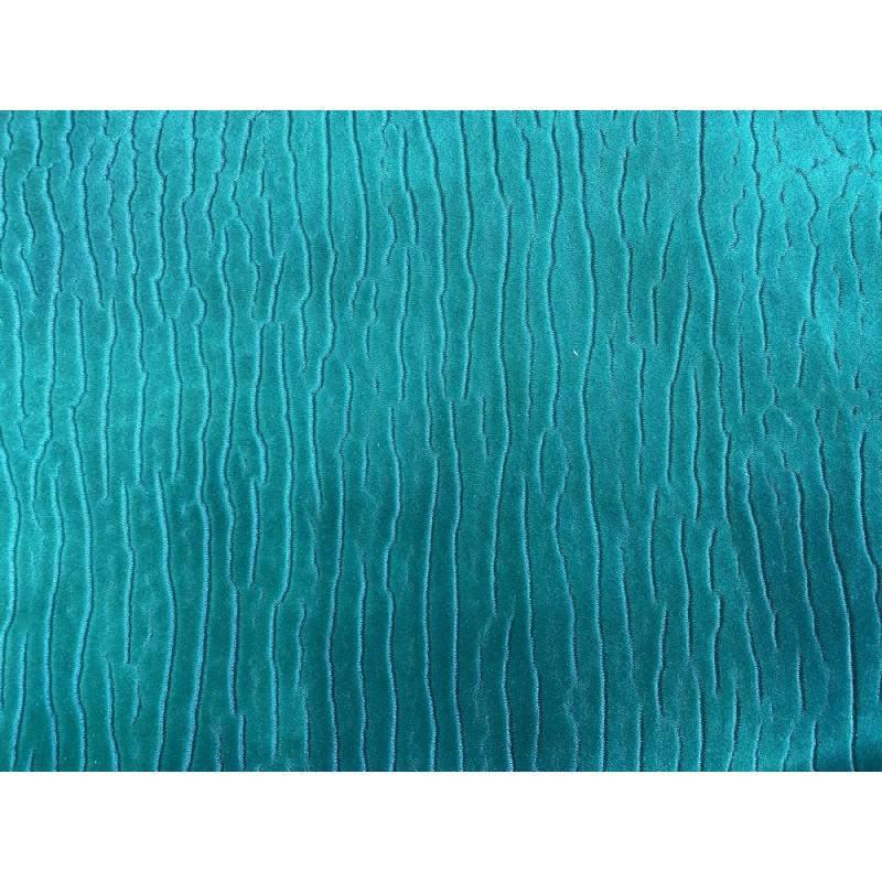 Détail grain de peau - cuir poisson requin - vert émeraude - Cuir en Stock
