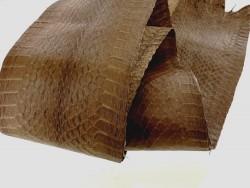 peau de serpent Cobra cuir exotique - Cuir en Stock