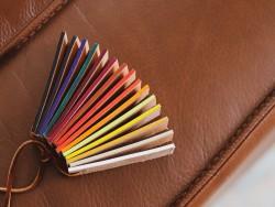 Outil pour appliquer teintures et finitions sur les bordures du cuir - Cuir en Stock