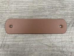 Poignée en cuir brun - décoration et customisation de meuble ou d'objet - Cuir en Stock