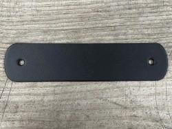 Poignée en cuir - noir - vendue à l'unité - décoration - customisation de meuble ou d'objet - Cuir en stock