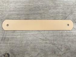 Grande poignée en cuir - beige sable - customisation et décoration d'objets ou meubles - Cuir en Stock