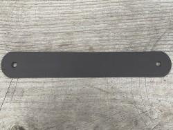 Grande poignée en cuir - marron mat - customisation et décoration d'objets ou meubles - Cuir en Stock