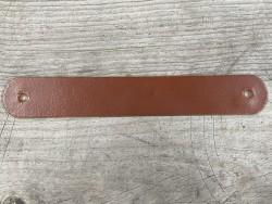 Grande poignée en cuir - fauve pullup - customisation et décoration d'objets ou meubles - Cuir en Stock