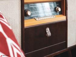Poignée en cuir noir mat sur mesure pour customiser et personnaliser meuble design et tiroirs - Cuir en Stock