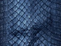 Cuir de serpent cobra - noir mat - peau exotique - maroquinerie - bijoux - Cuir en Stock