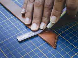 Couteau scalpel professionnel pour la découpe du cuir - Cuir en Stock