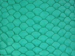 Cuir de poisson écailles Tilapia vert mat maroquinerie bijoux accessoire Cuir en Stock