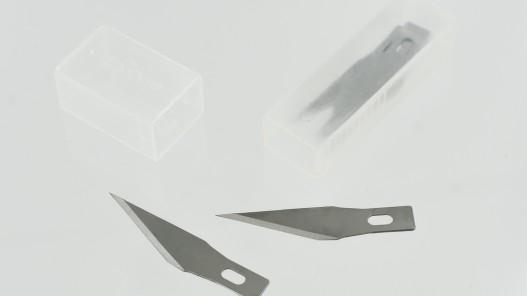 Boite de 5 lames de rechange pour couteau scalpel coupe du cuir - Cuirenstock