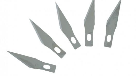 Lot de 5 lames de rechange pour scalpel - Cuir en Stock