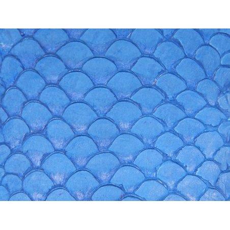 Petite peau de tilapia bleu