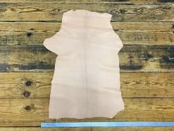 Peau de cuir de chèvre rose pastel - maroquinerie - Cuir en Stock