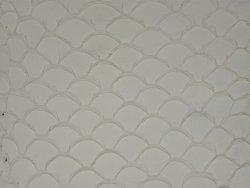 Cuir de poisson Tilapia blanc mat bijoux accessoire Cuir en Stock
