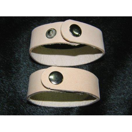 Bracelet cuir naturel