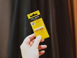 Kit aiguilles pointues droites pour coudre le cuir fin et les tissus difficiles - Cuir en Stock