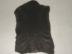 peau agneau élastique naturel noir Cuirenstock