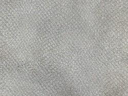 Détail peau cuir grain façon serpent beige pailleté doré - maroquinerie - Cuir en Stock