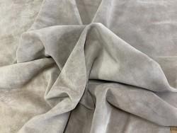 Souplesse peau de veau velours beige sable - maroquinerie, vêtement - Cuirenstock