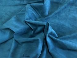 Souplesse peau de veau velours vert forêt - maroquinerie, vêtement - Cuirenstock