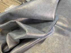 Demi peau de veau lisse bronze métallisé Cuirenstock