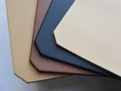 Couleurs des tapis de souris en cuir véritable - idée cadeau - cuir en stock
