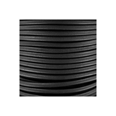 Lacet noir 5mm