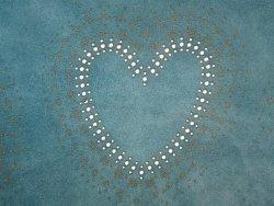 Agneau velours coeur