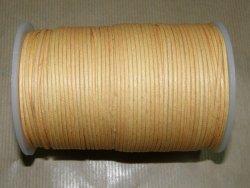 Fil coton ciré naturel