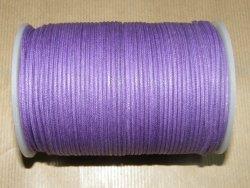 Fil coton ciré violet