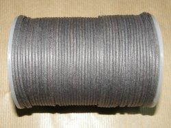 Fil coton ciré gris