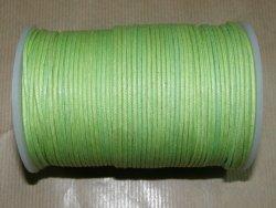 Fil coton ciré vert