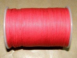 Fil coton ciré rouge