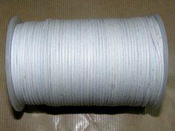 Fil coton ciré blanc