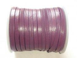 Lanière de cuir violet