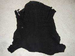 Agneau velours noir