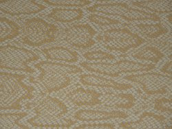 Vache grain serpent beige