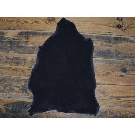 Agneau velours stretch noir écart