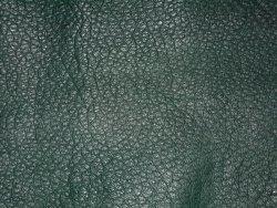 Peau de cuir d'autruche vert