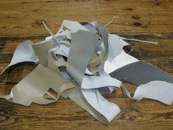 chutes de cuir PU accessoire cuir en stock