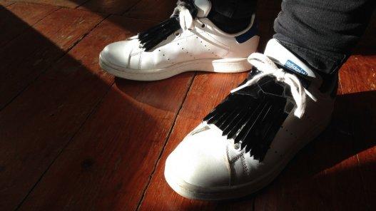 pattes mexicaines amovibles en cuir pour baskets derbies boots Cuir en Stock