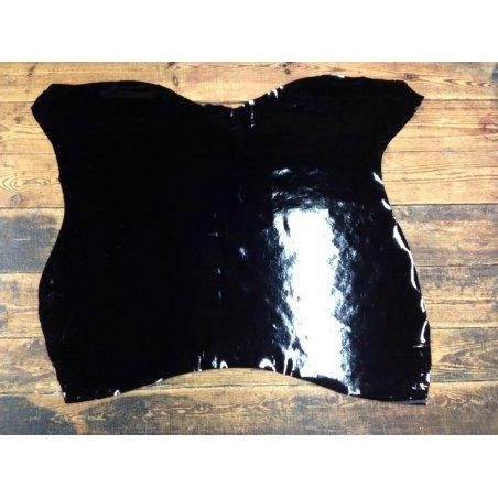 Vache vernis noir