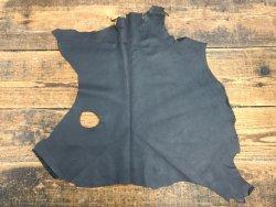peau agneau nappa noir vêtement cuir en stock