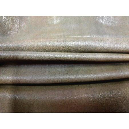Agneau stretch naturel brun