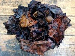 Chutes de veau poil façon zebre brun