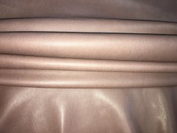 Agneau stretch brun mauve