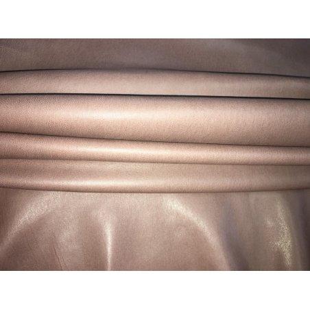 Agneau stretch brun mauve