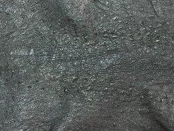 Peau de cuir de dinde noir