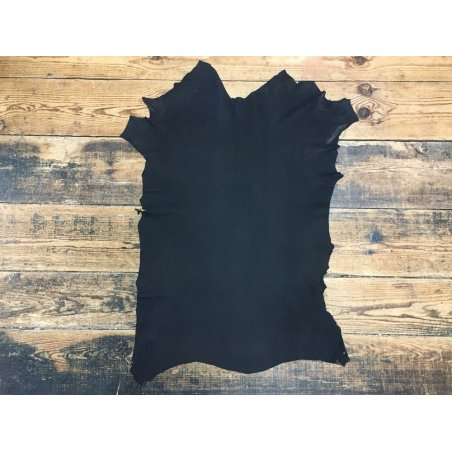 Agneau nubuck noir